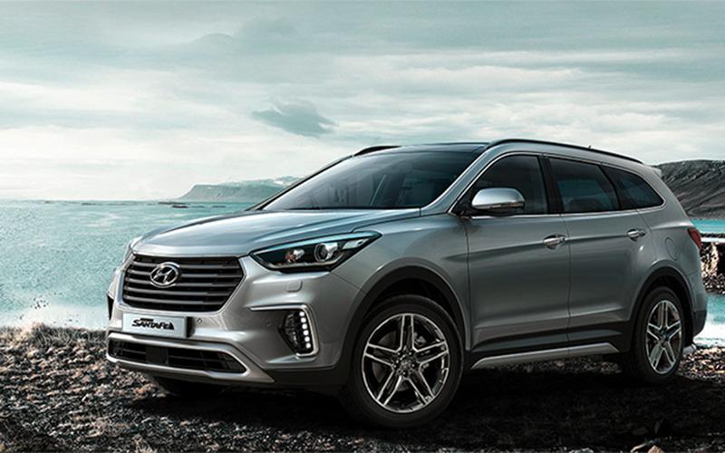 Nuevo Hyundai Grand Santa Fe para Comprar en Concesionario y Reventa Autorizada Curifor en Chile, CL