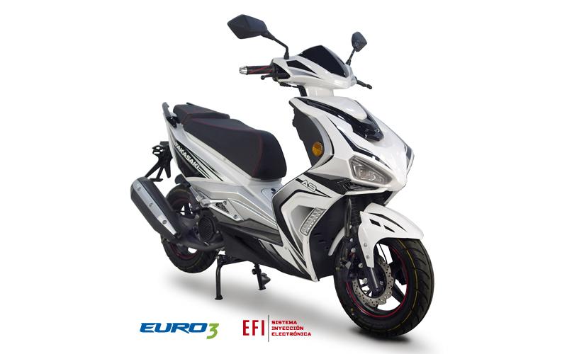 Nueva TAKASAKI A9 para Comprar en Concesionaria Curifor Motos en Chile