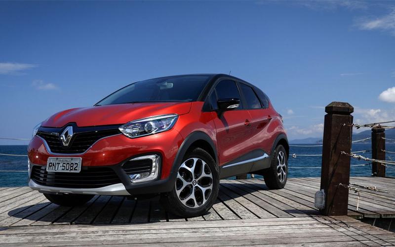 Novo Renault Captur para Comprar na Concessionária Autorizada Renault Auto France no Rio de Janeiro, RJ e no Espirito Santo, ES