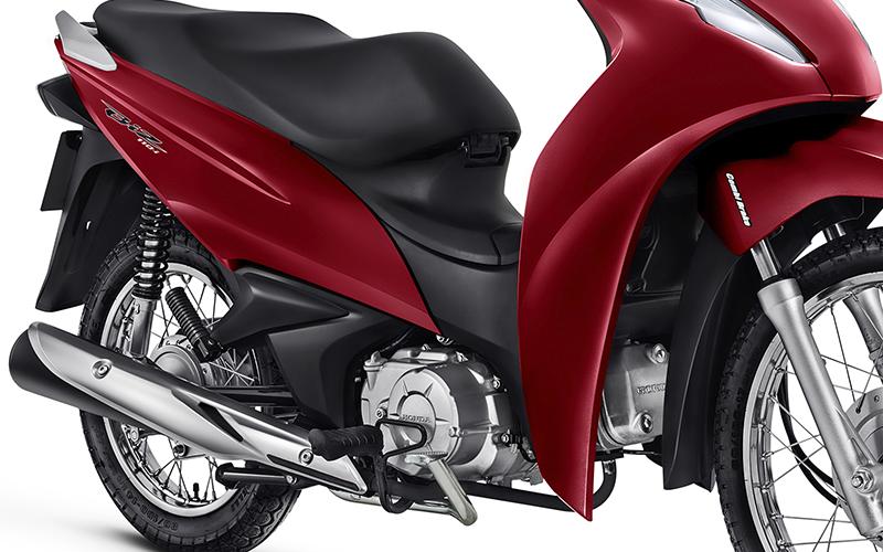 Nova Honda Biz 110i para Comprar na Concessionária e Revenda Autorizada Honda Dorvalino Motos em Palhoça, SC