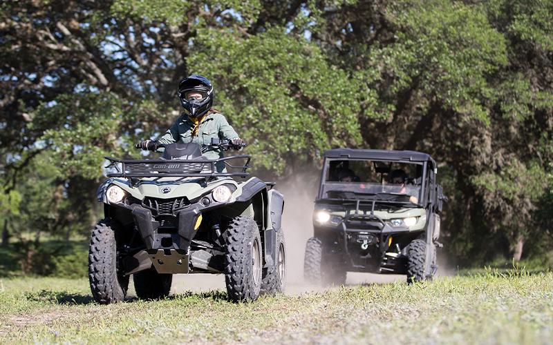 Novo  Outlander 570 para Comprar na Boreal Powersports  em Campo Grande, MS
