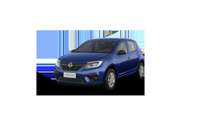 Novo Renault Sandero para Comprar na Concessionaria Autorizada Itaimbé Renault em Santa Maria, RS