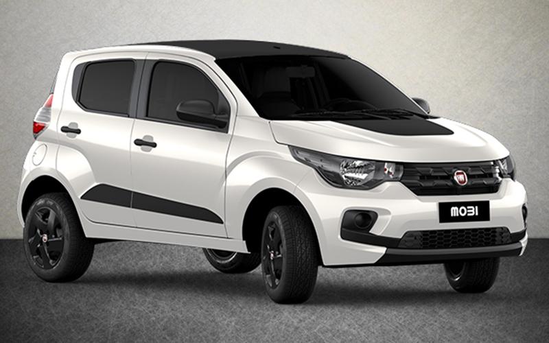 Novo Fiat Mobi para Comprar na Concessionária Fiat Automotive em Rio de Janeiro, RJ
