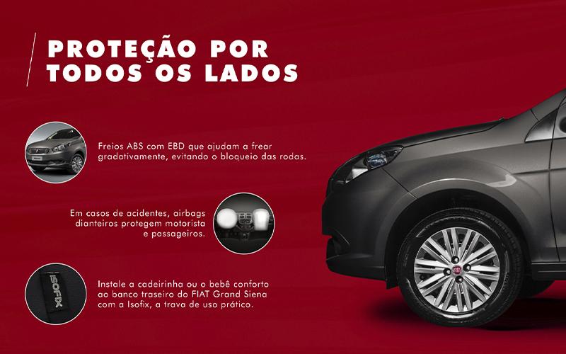 Novo Fiat Grand Siena para Comprar na Concessionária Fiat Automotive em Rio de Janeiro, RJ
