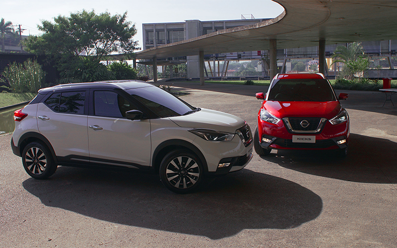 Novo Nissan Kicks para Comprar na Concessionária Autorizada Nissan Itaimbé  no Rio Grande do Sul, RS