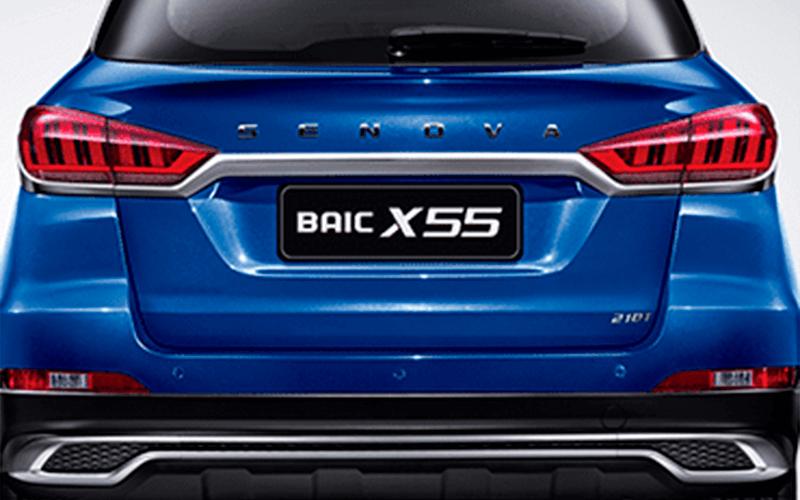 Nuevo Baic X55 para Comprar en Concessionario Autorizado Baic Curifor en Chile, CL