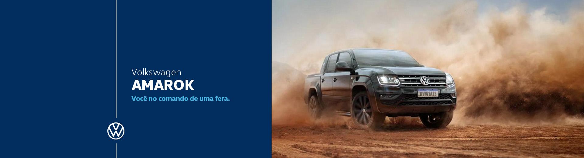 Novo Volkswagen Amarok para Comprar na Concessionária Autorizada Divosul Volkswagen em Porto União, Santa Catarina, SC
