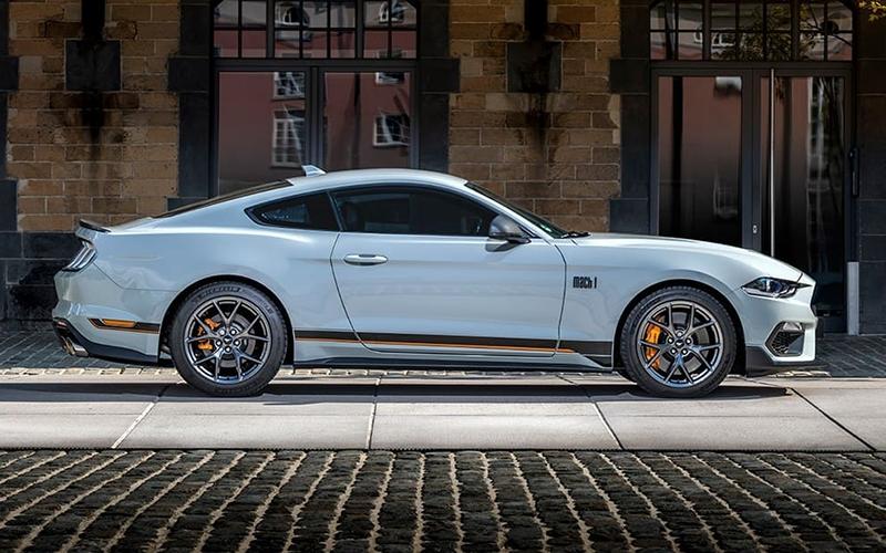 Novo Mustang Mach 1