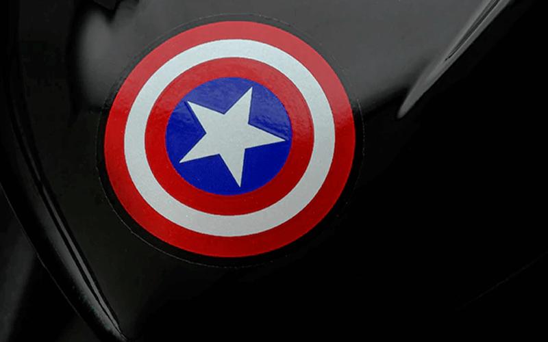 Lander 250 Capitão América