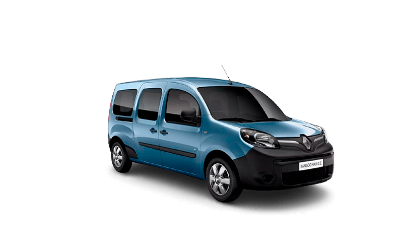 Novo Renault Kangoo ZE Maxi para Comprar na Concessionária Autorizada Renault Auto France no Rio de Janeiro, RJ e no Espirito Santo, ES