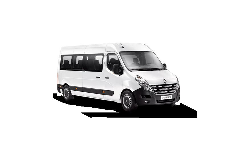 Novo Renault Master Minibus para Comprar na Concessionaria Autorizada Itaimbé Renault em Santa Maria, RS